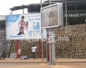 L'affichage publicitaire prend du galon à Douala panneau-pub-300x237